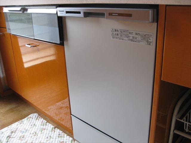 自宅の食洗機